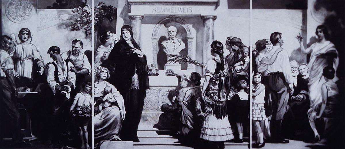 Semmelweis: eroico e sventurato pioniere dell'asepsi