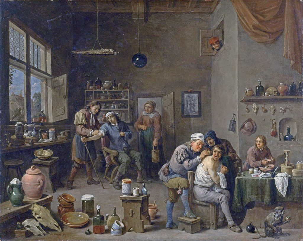 https://commons.wikimedia.org/wiki/Category:Physicians_by_David_Teniers_the_Younger?uselang=it#/media/File:The_Surgeon_by_David_Teniers_the_Younger