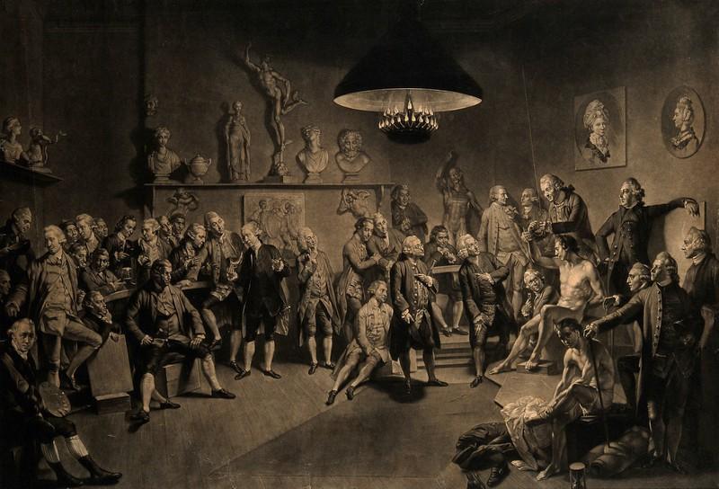 Il Settecento: gli anatomici inglesi