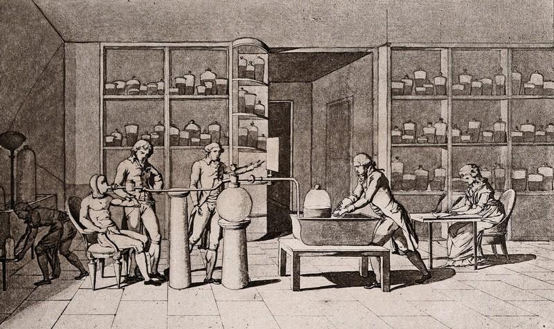 Antoine-Laurent de Lavoisier e la natura chimica della respirazione