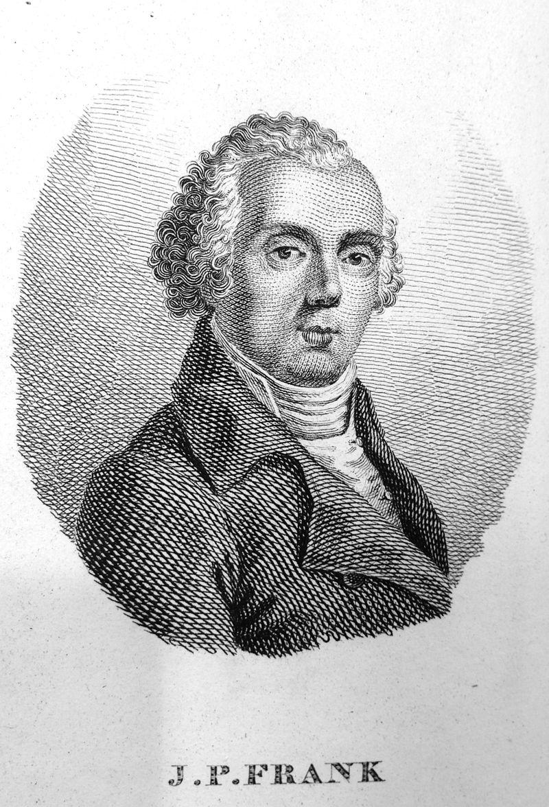 Johann Peter Frank e l'igiene pubblica