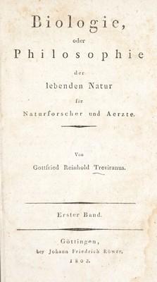 """1802: la """"nascita"""" della biologia"""