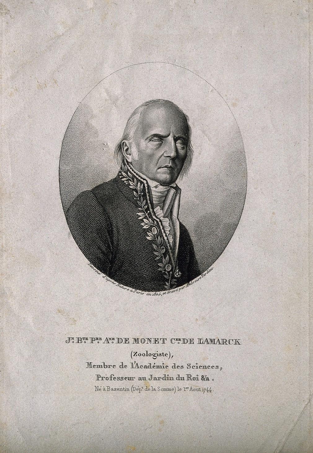 Jean-Bapteste Lamarck e la biologia