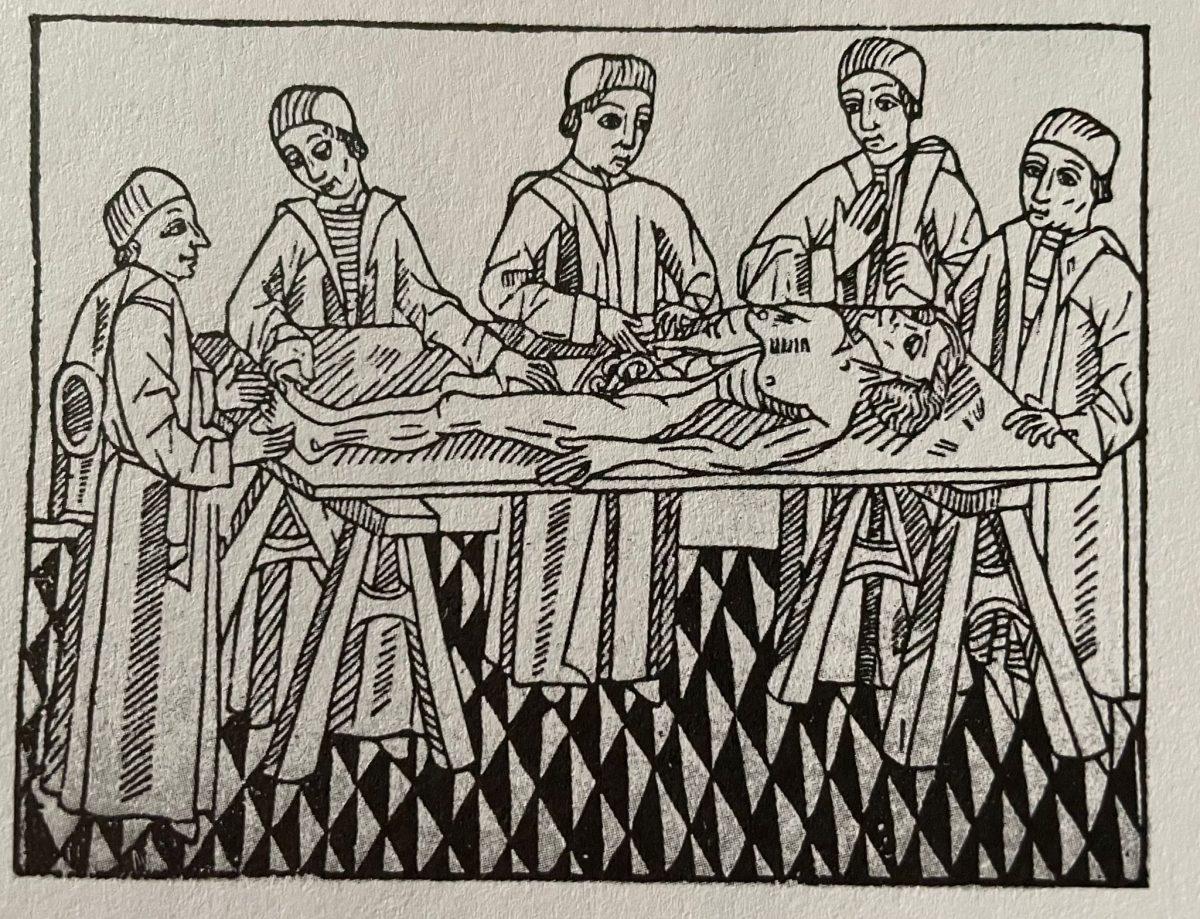 Mondino, primo anatomico