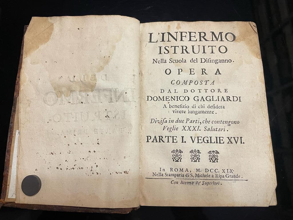 Infermo istruito: l'alfabetizzazione sanitaria nel 1719